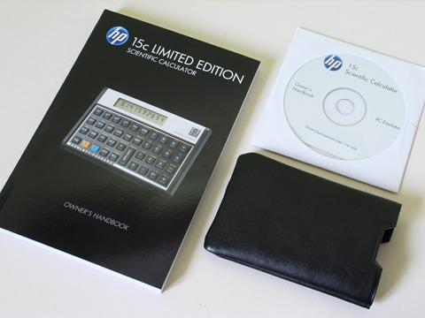 HP-15C LE Inhalt