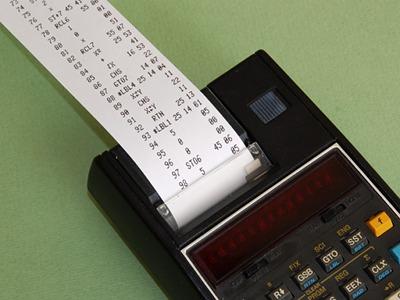 HP-19C Ersatzpapier