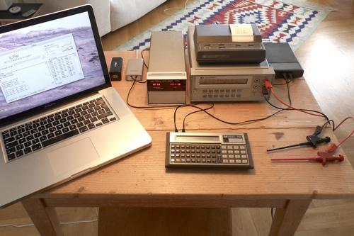 HP-71 talks to MacBook