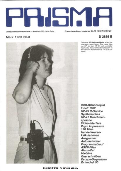 Prisma Zeitschrift Heft 3 - März