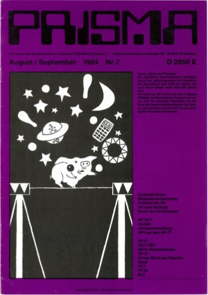 Prisma Zeitschrift Heft 7 - August/September