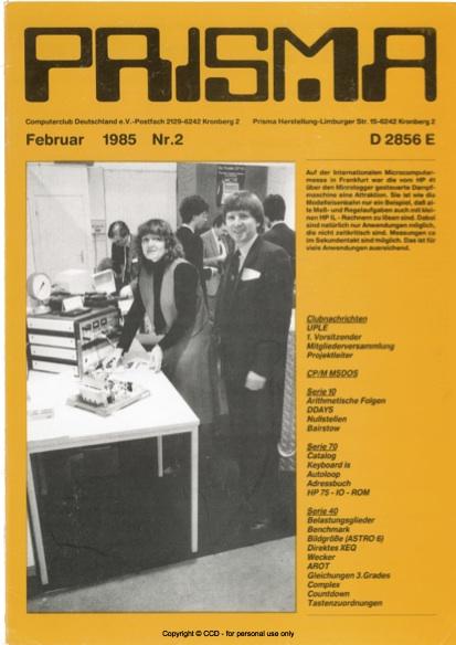 Prisma Zeitschrift Heft 2 - Februar