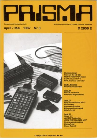 Prisma Zeitschrift Heft 3 - April/Mai