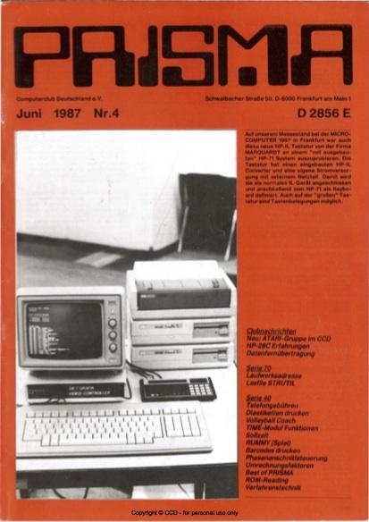 Prisma Zeitschrift Heft 4 - Juni