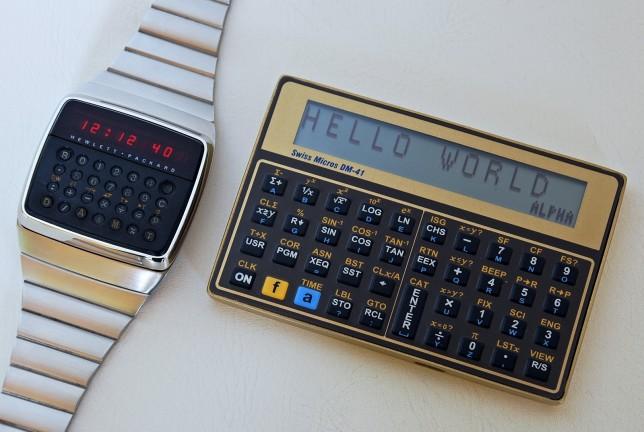 DM-41 und HP-01 Uhr