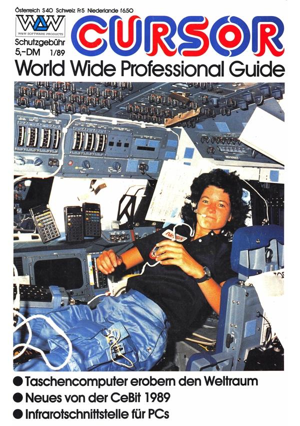 W&W CURSOR 89/1 Titelseite